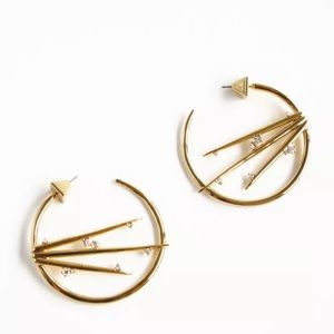 Alexis Bittar Satellite Crystal Spike Earrings